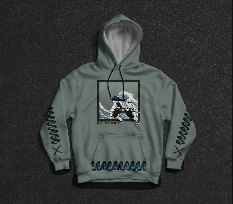 demon slayer hoodie